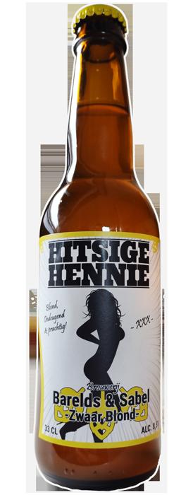 Hitsige Hennie zwaar blond bier